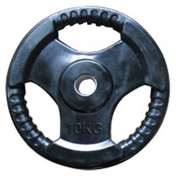 Rubberised Weight Plates 10kg 2pc. Insert 30/50mm