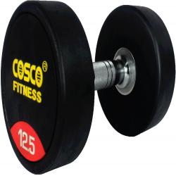 Cosco Rubberised Round Dumbbells 12.5Kgs.