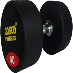 Cosco Rubberised Round Dumbbells 40Kgs.